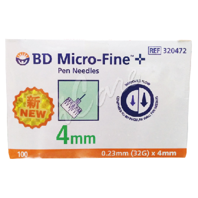 DB320137 - BD Micro-Fine Pen Needle 4mm