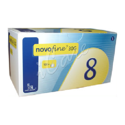 DB952-30-8 - Novofine Needles 30G 8mm