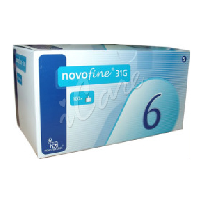 DB952-31-6 - Novofine Needles 31G 6mm